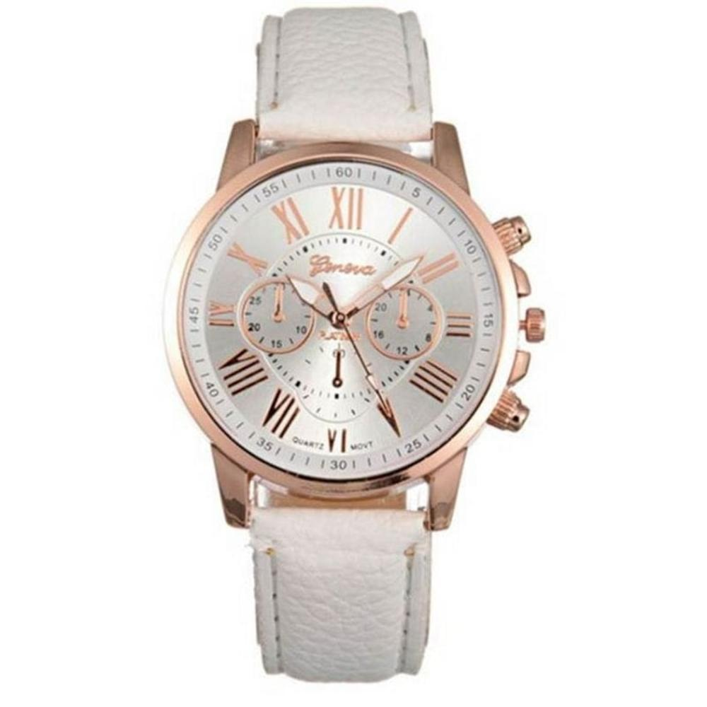 Jam Tangan Wanita Geneva Leather Import Murah