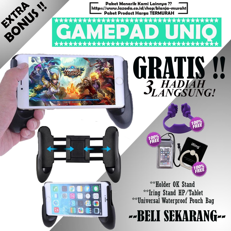 Rp 49.000. BLANJA MURAH Gamepad Mobile Joystick Controller - Game Pad Grip MOBA Smartphone ...