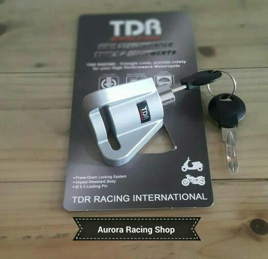 Kunci Gembok Pengaman Cakram | Disc Lock - TDR - K743b6