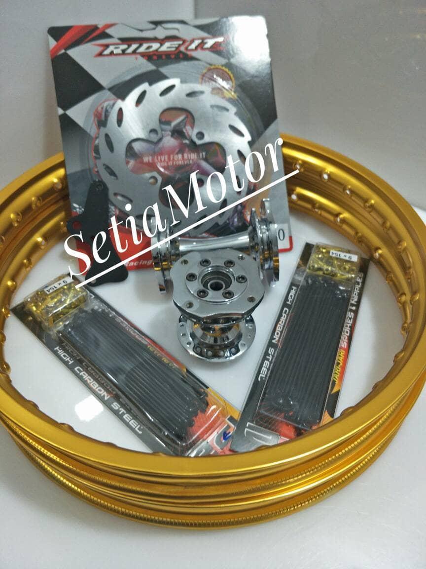 Velg Satria Fu 150 - Paket Tromol Becak Velg Rossi Paket Murah