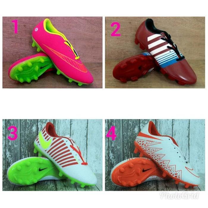 Sepatu Bola-Soccer Kids-Football Nike Magista Obra Putih orange Anak - BhNpeX
