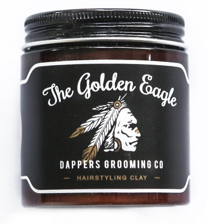 BEST SELLER!!! Dappers Golden Eagle Styling Clay Hair Pomade Minyak Rambut - An1PXY