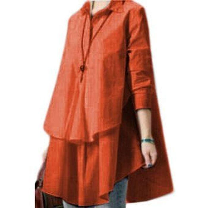 Terbaru [blouse Hiraku Bata Sw] Blouse Wanita Rayon Bangkok Merah Bata Pyuinu
