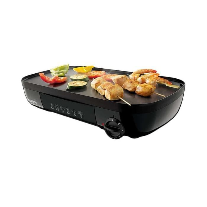 PHILIPS Table Grill HD6320 - Pemanggang Listrik HD 6320 / Panggangan / Alat Pemanggang