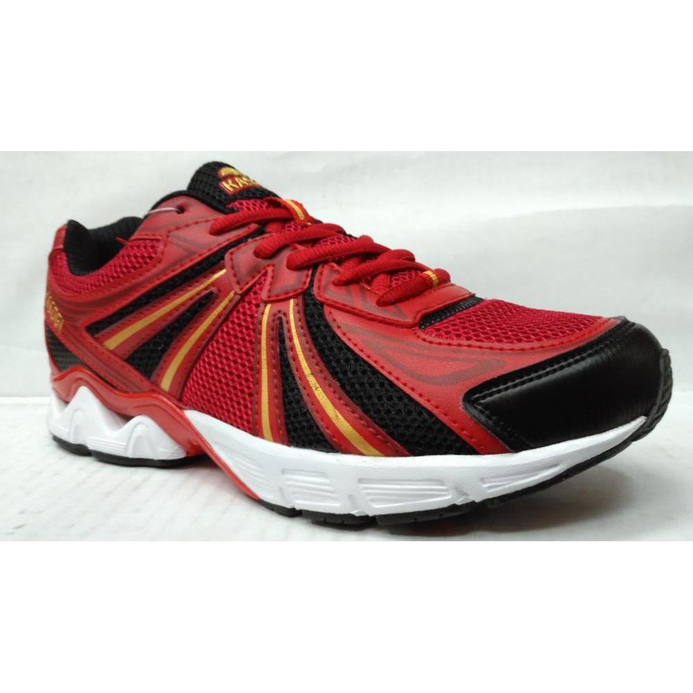 Kasogi Olympic Red- Sepatu Running - Sepatu Olahraga - Sepatu Lari - Sepatu Murah