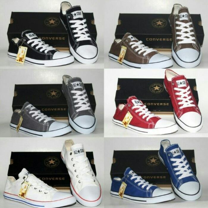 Fitur Super Murah! Sepatu Converse All Star Murah Dengan Box Baru ... a4957508e9