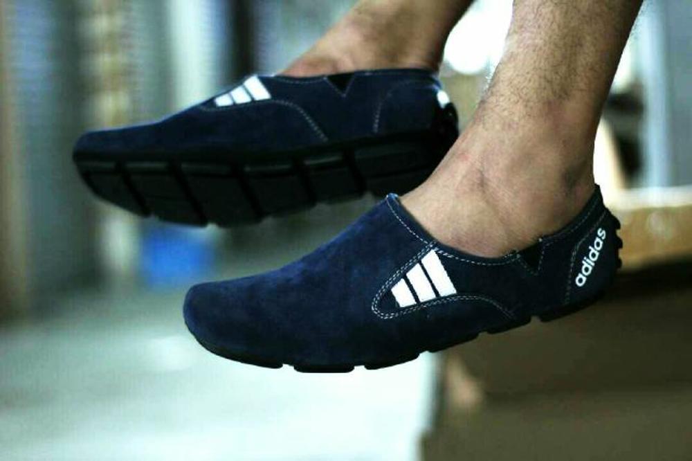 Promo Sepatu Santai Pria Adidas Slop Trendy Kulit Suede (Sepatu Santai, Sepatu Jalan, Sepatu Sekolah, Sepatu Joging, Sepatu Kulit, Sneaker, Slip On, Casual, Sepatu Kerja, Adidas, Nike) Diskon