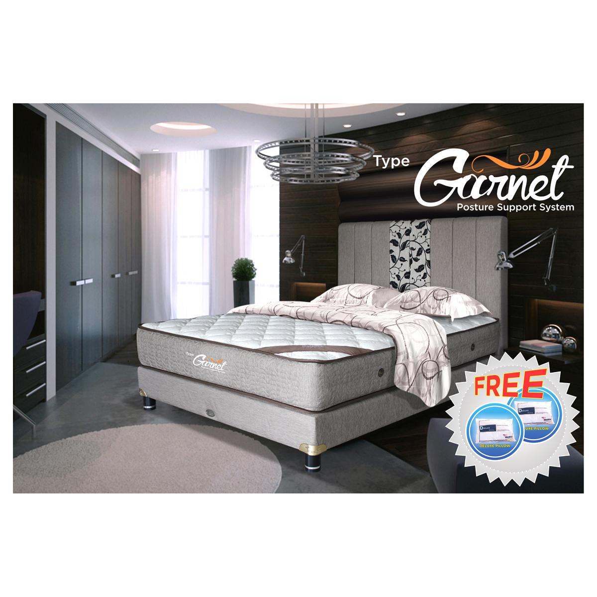 FREE ONGKIR American Pillo Spring Bed GARNET - MATTRESS 100x200