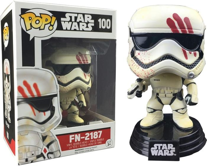 BEST SELLER!!! Funko POP! Star Wars The Force Awakens - FN-2187 (Exclusive) #100 - 9i0oWI