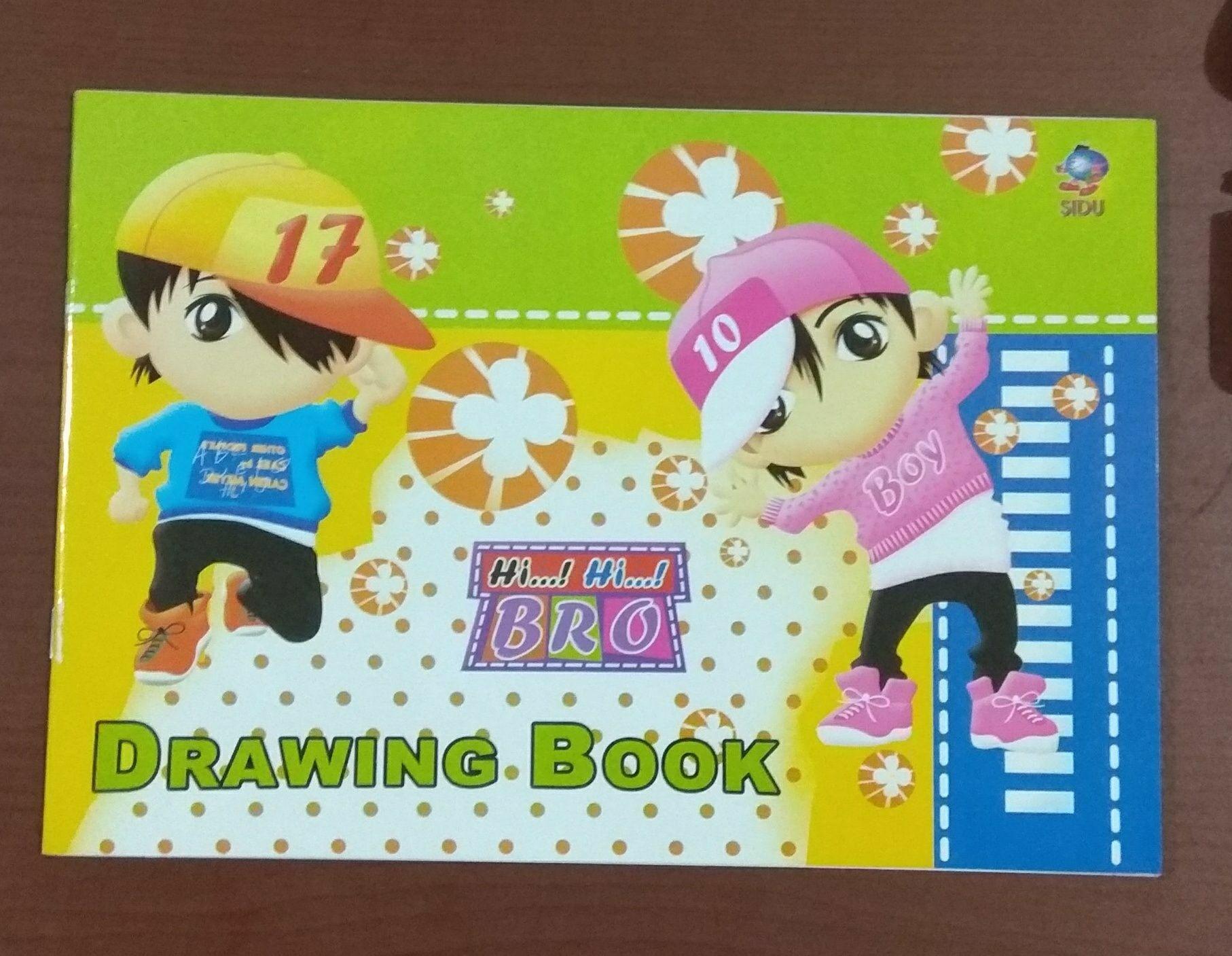 Buku gambar ukuran kecil merk SIDU