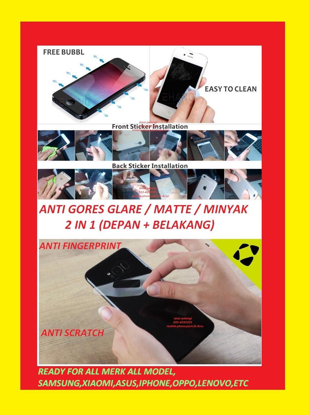 Fitur Samsung S7 Edge G935 Depan Belakang 2 In 1 Anti Gores Glare Shock Screen Protector Full Depanbelakang Minyak Matte Mate
