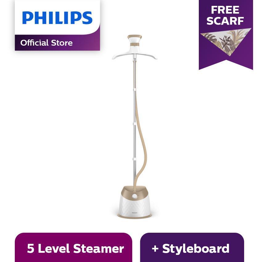 Philips EasyTouch Plus Alat Uap Pakaian Garment Steamer GC524/60 - Gold