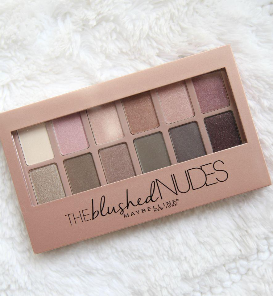 Maybelline The Blushed Nudes Eyeshadow Pallette