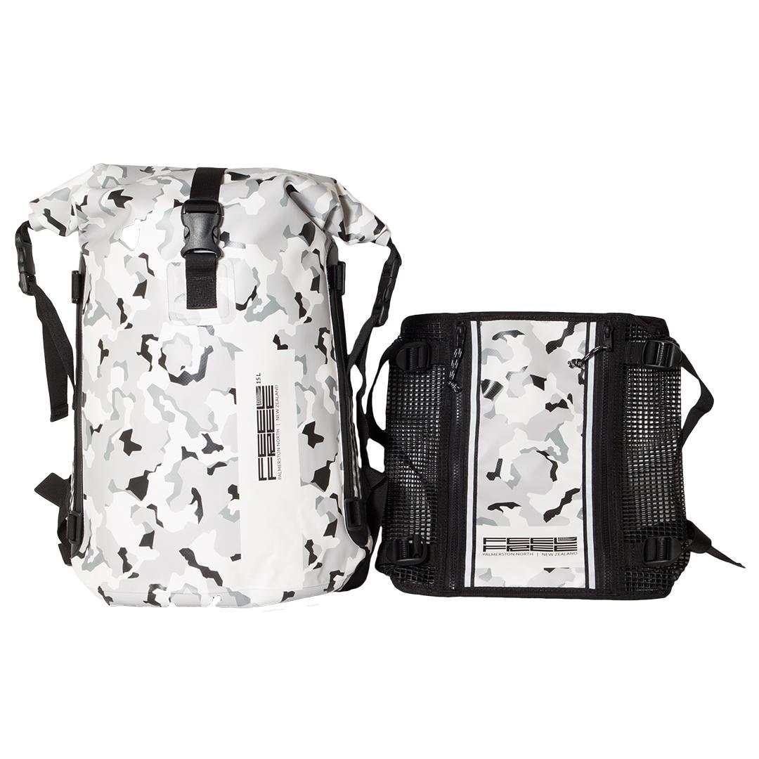 Fitur Feelfree Roadster 25 L Special Edition New Zealand Camo White Petite Mimi Gendongan Kaos Geos Simple Sling Tas Anti Air