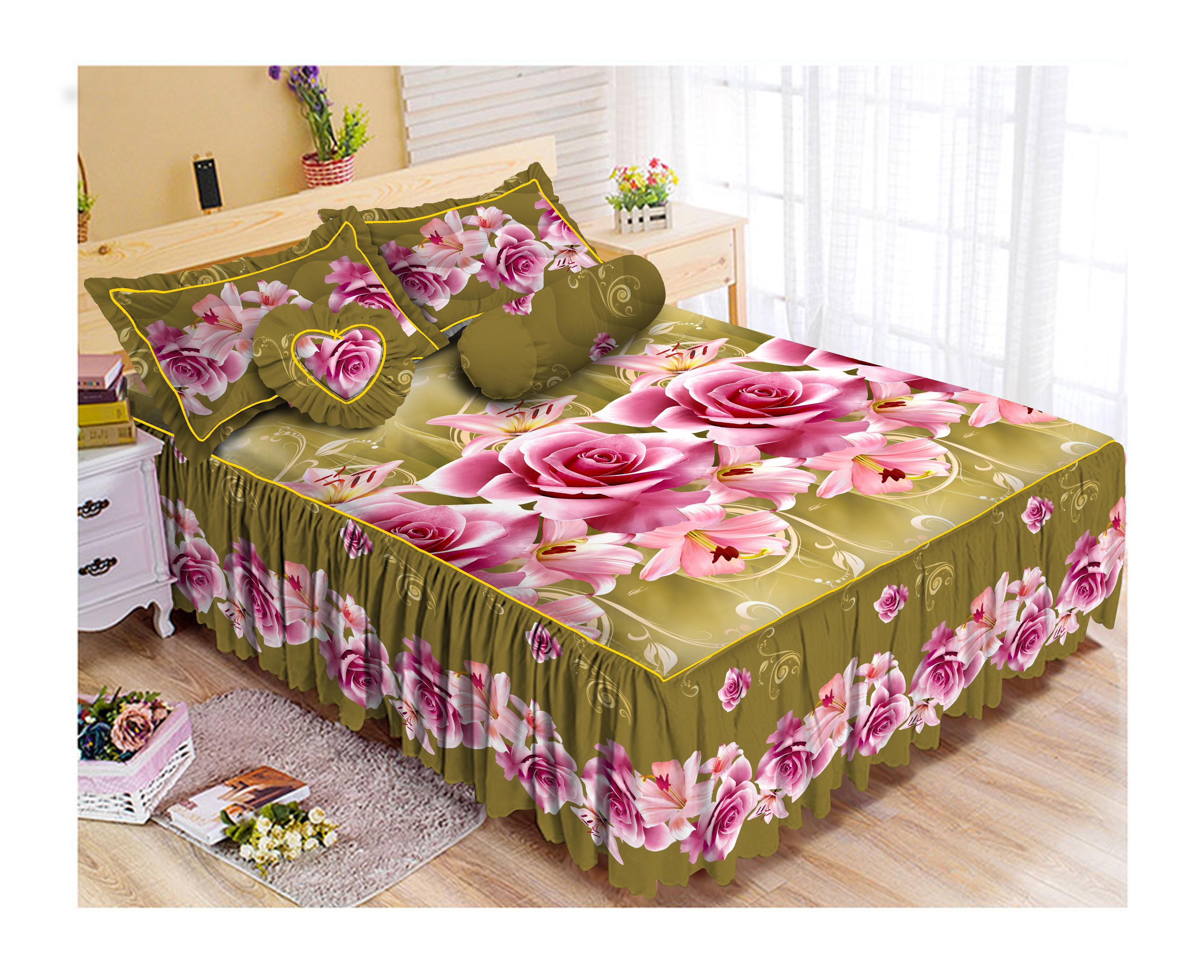 Kintakun Luxury Sprei Rumbai - 180 x 200 B2 (King) - Calista
