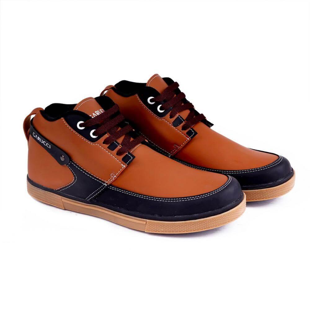 Garucci Gda 9069 Sepatu Anak Casual Boots Laki Sintetis Keren Tas Ransel Sekolah Tng 3205 Merah Sneakers Kasual Pria 1176