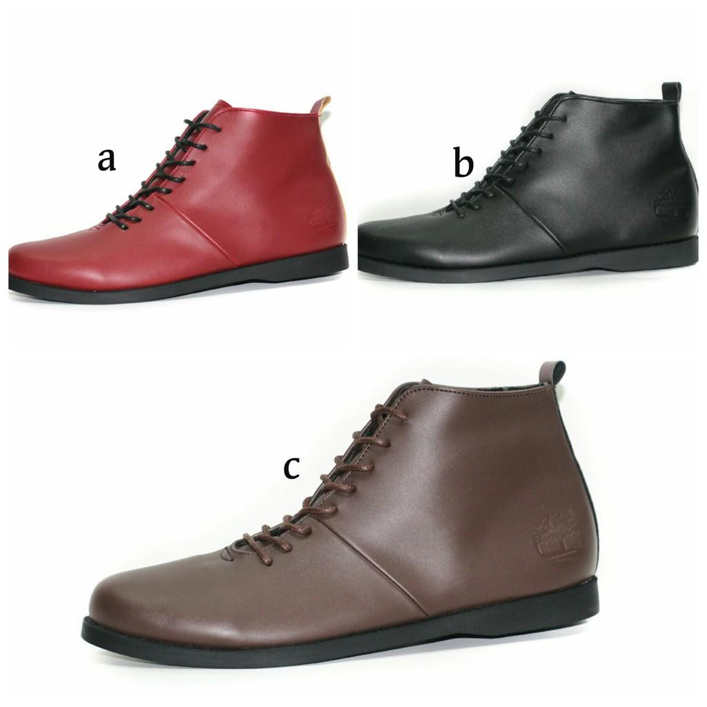 IS Sepatu Boots Timberland Original Handmade Casual Pria Brodo Kerja Snekaers Kets Sepatu Kerja Nike