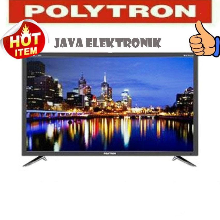 POLYTRON 32D7511 New LED TV 32 Inch - Hitam GARANSI 5 TAHUN GARANSI RESMI
