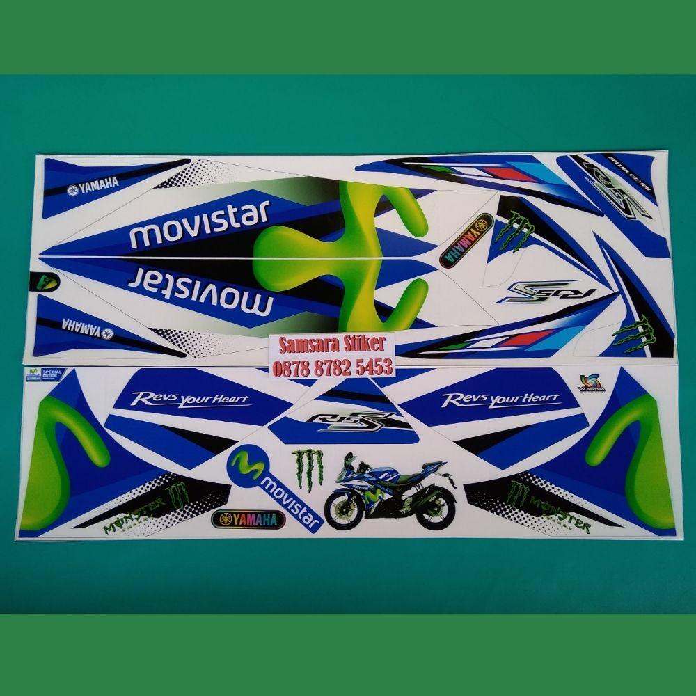 Promo Spesial Modif Striping Motor Vega Zr Movistar V2 Di Online