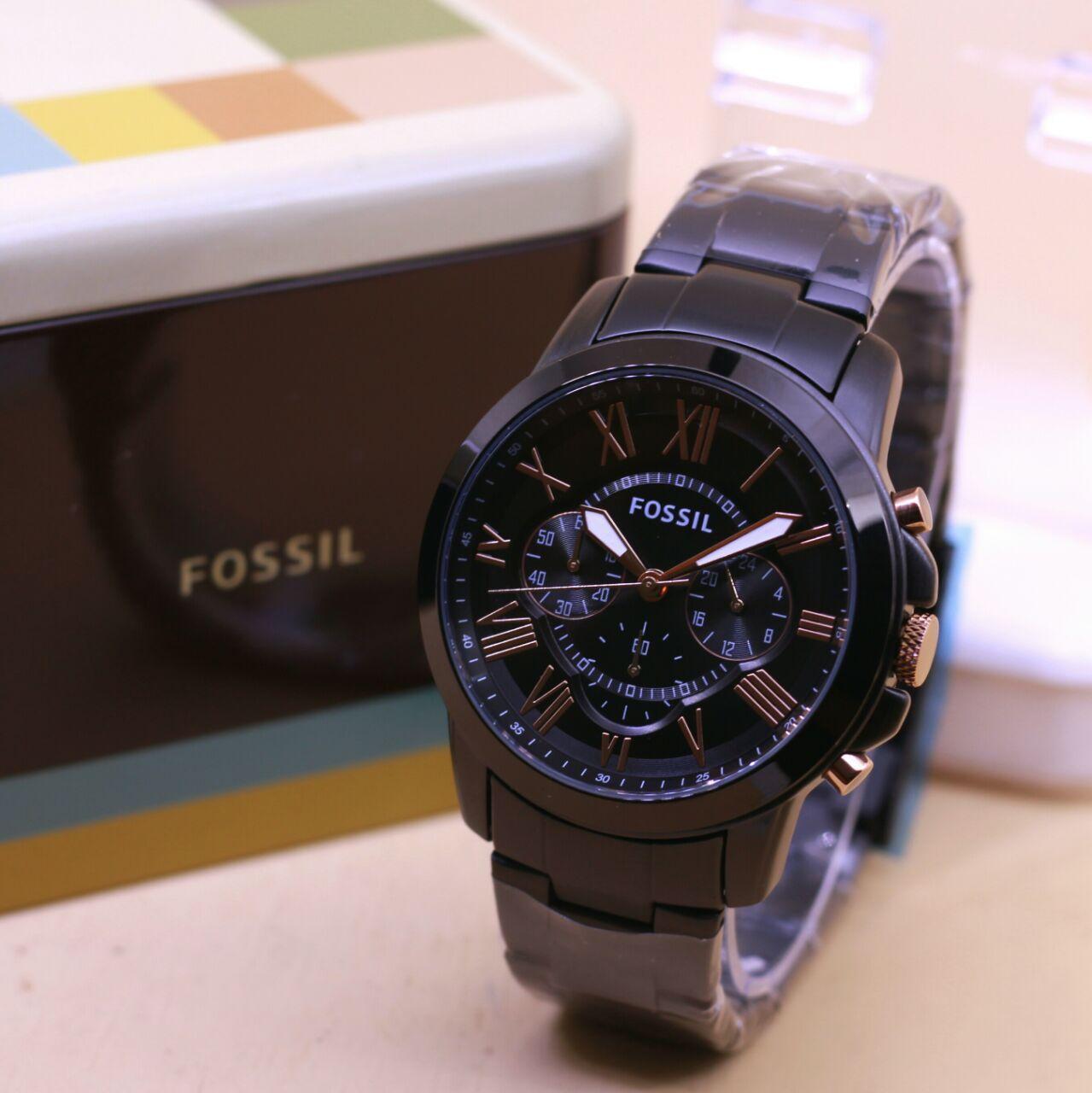 Harga Jam Tangan Fossil Pria Terbaru 2018 Jr1511 Original Crono Aktif Lengkap Dengan Box