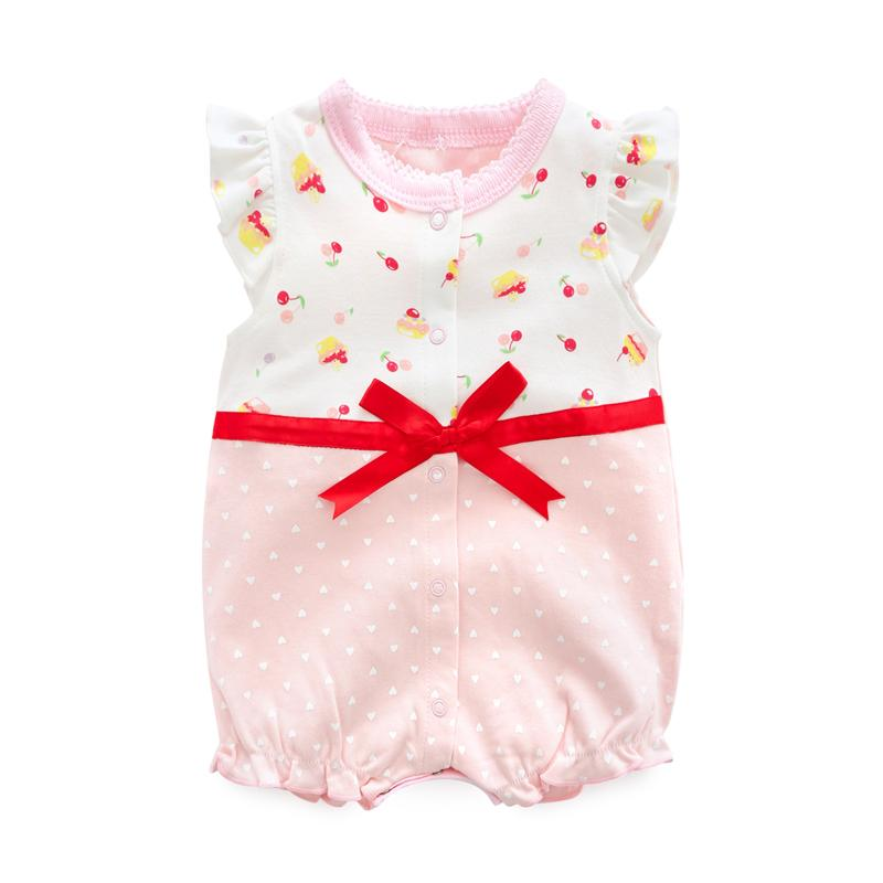 81f29bfdb Baby Onesie Summer New Style Newborns Clothing women Baby's First Month Baby  Pure Cotton Baby Bodysuit
