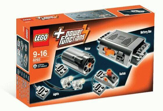 BEST SELLER!!! Lego Technic 8293 - Power Functions Power - Lg976b