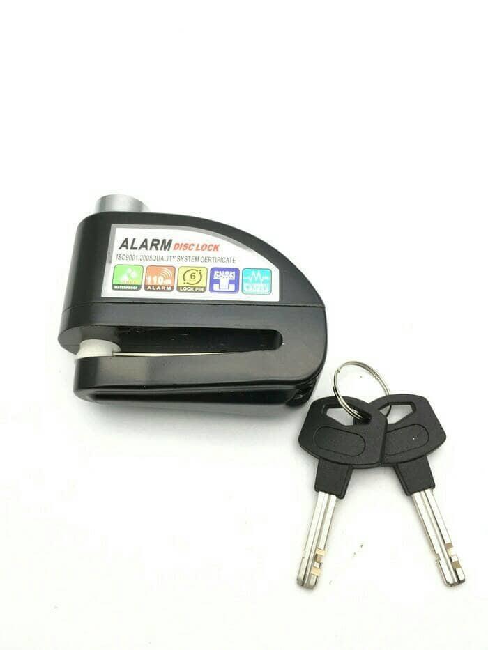 PROMO Alat Pengaman Motor Kunci Alarm Disk Lock Cakram Termurah. TERLARIS