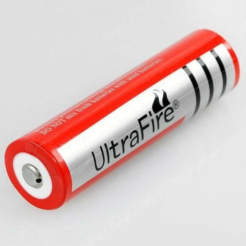 Baterai 18650 3.7V SENTER SWAT POLISI POLICE Batere Batre Merah VAPE Charge Isi Ulang 3.7 Bagus Grosir Murah