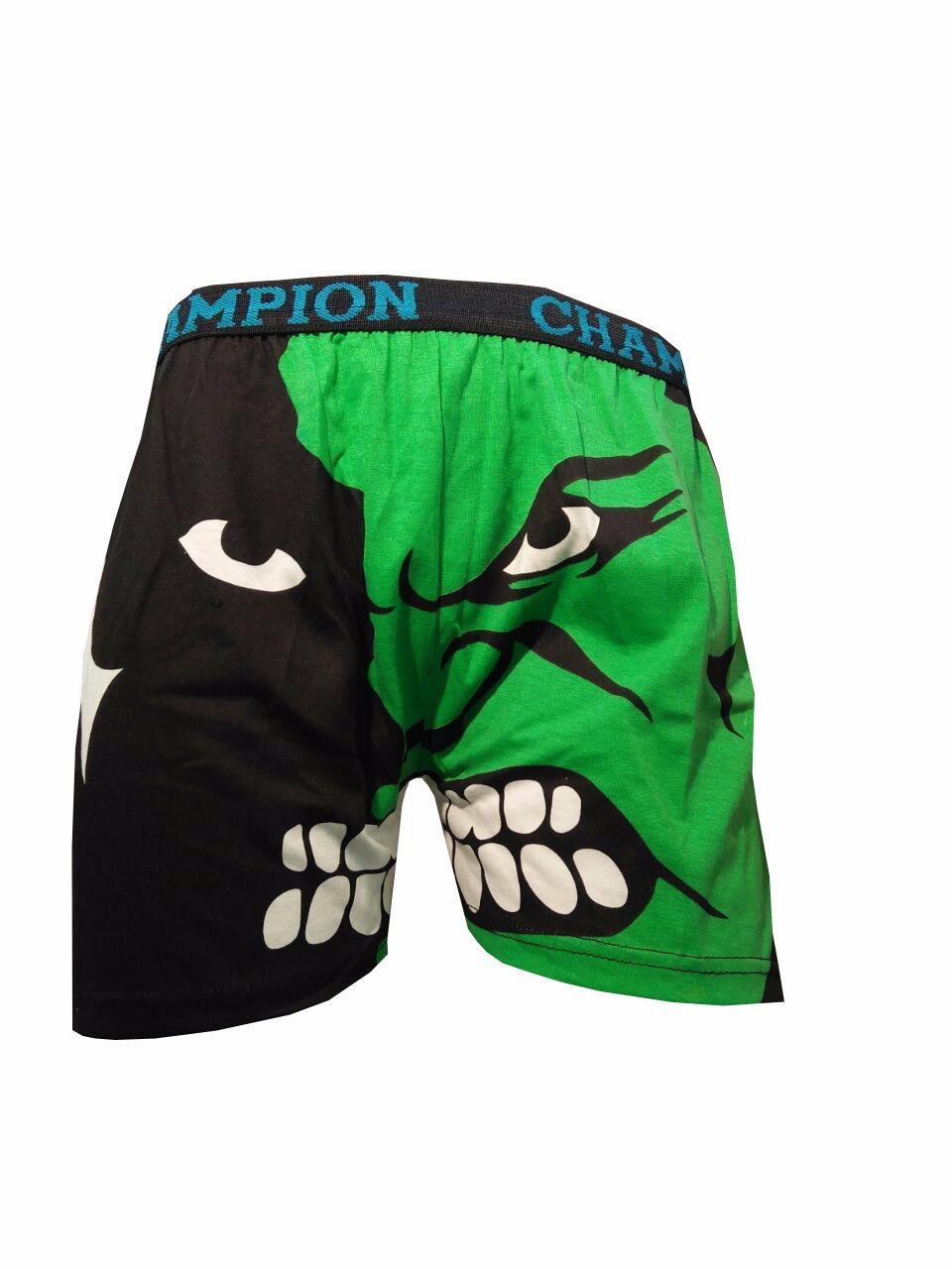 Boxer Celana Branded Dalam Pria Motif Kartun pria/Wanita Cotton Lucu Allsize 3pcs