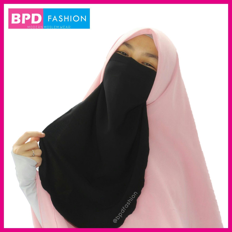 BPD Cadar Tali Niqab Niqob Wolfis Wolpeach Kualitas Premium WARNA HITAM