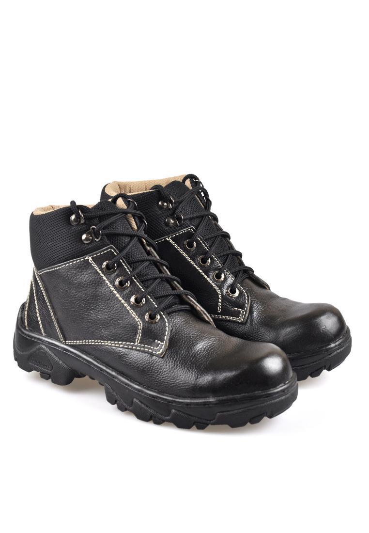 Sepatu Kulit Asli Cibaduyut Tactical BSC 785