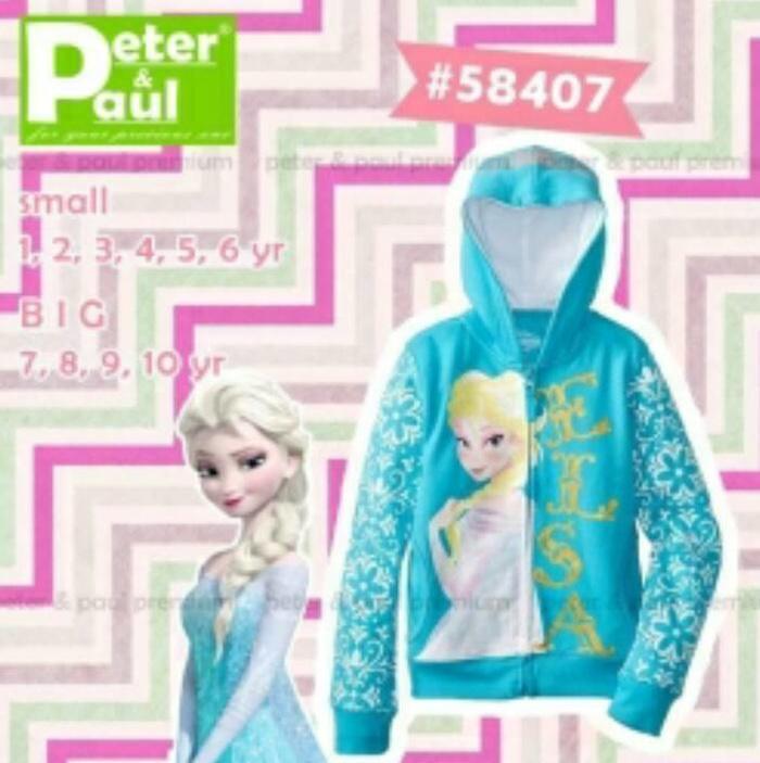 Jacket Anak Frozen / Jaket Anak Elsa / Jaket Elsa