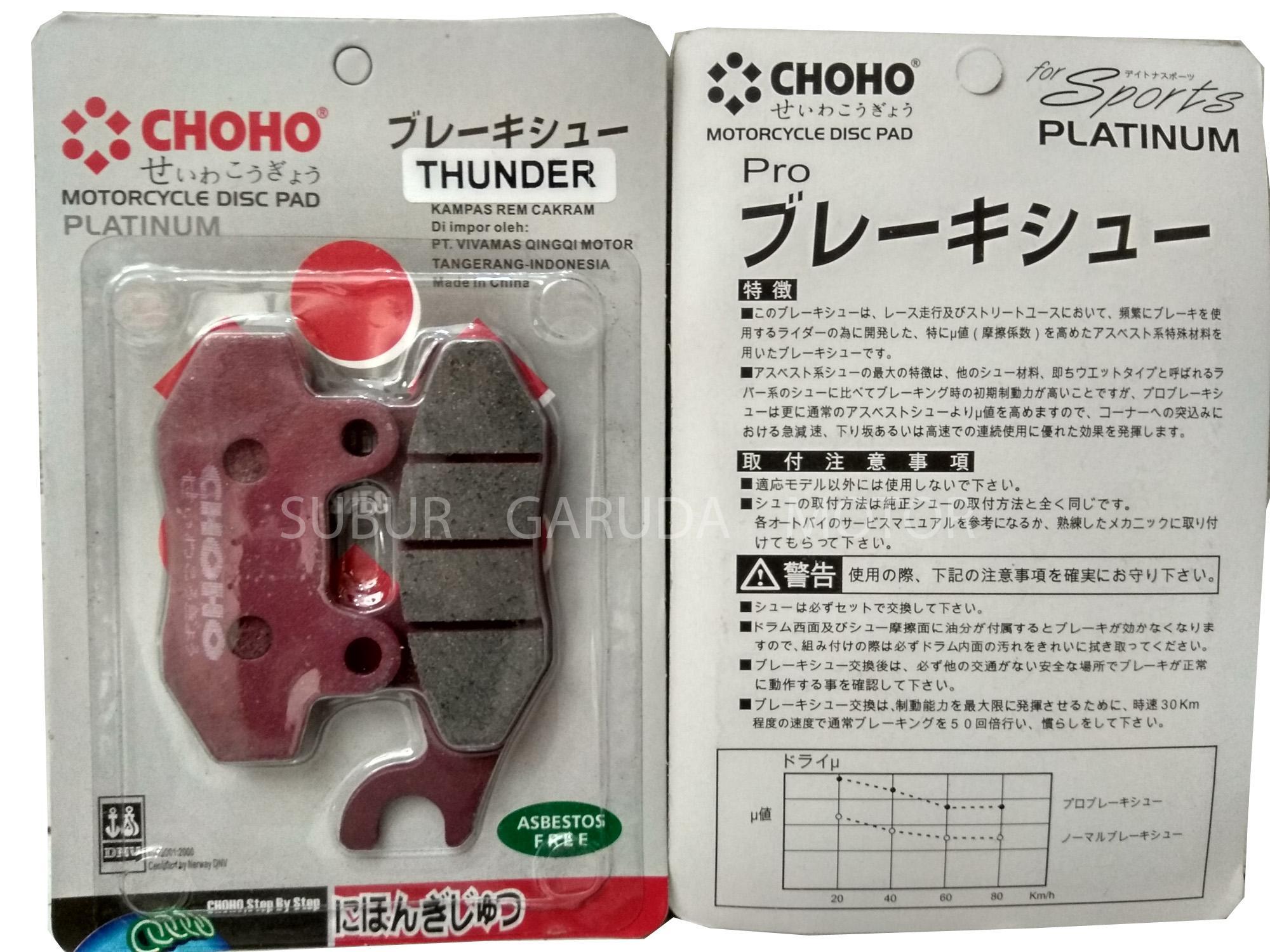 Daftar Harga Suzuki Lampu Depan Thunder 125 Merk Xnd Dan Ulasan Saklar Kiri Kanan New 9 Kabel Kampas Rem Klx Choho Kualitas Jepang Bebas Asbes