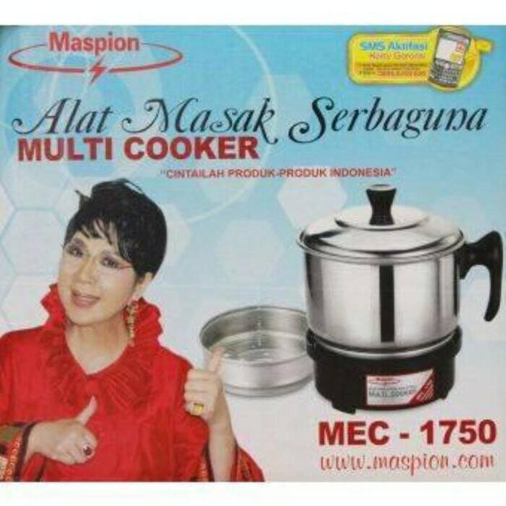 Panci Listrik Multi Cooker MEC 1750 MASPION Murah Paling Dicari