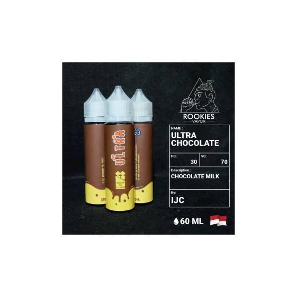 Ultra Milk Chocolate 60ML Liquid Susu Premium Coklat 60 ML Lokal LQ044