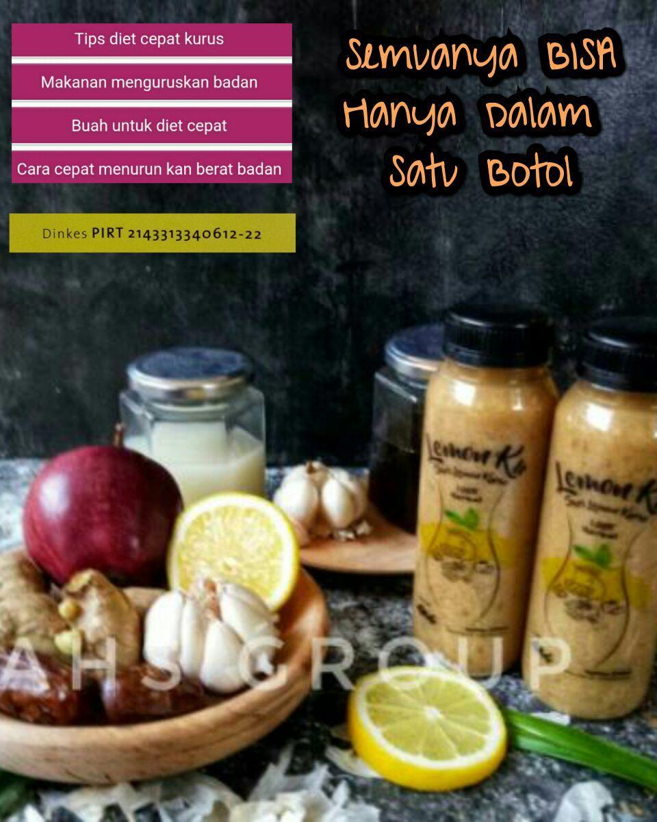 Rahe Cibubur Jus Diet Lemonku 300gr - Jus Kurus Langsing Cara Sehat Alami  100 % Herbal @ 300 gram