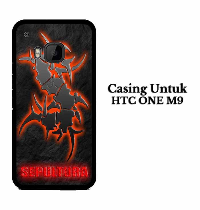 Casing HTC ONE M9 sepultura Hardcase Custom Case Se7enstores