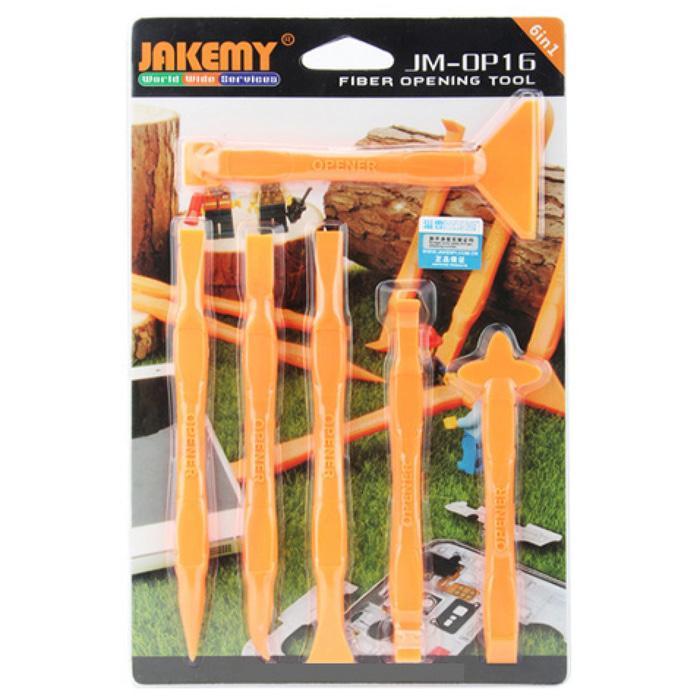 Jakemy 6 In 1 Multifunction Opening Ultra Thin Tools Kit - JM-OP16
