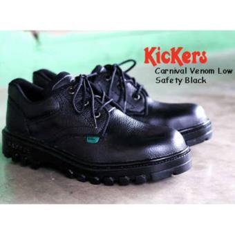 Harga preferensial Sepatu Boots Safety Kickers Kasual Pria Laki Tracking Murah Adventure Lapangan Proyek Touring Kulit terbaik murah - Hanya Rp190.026