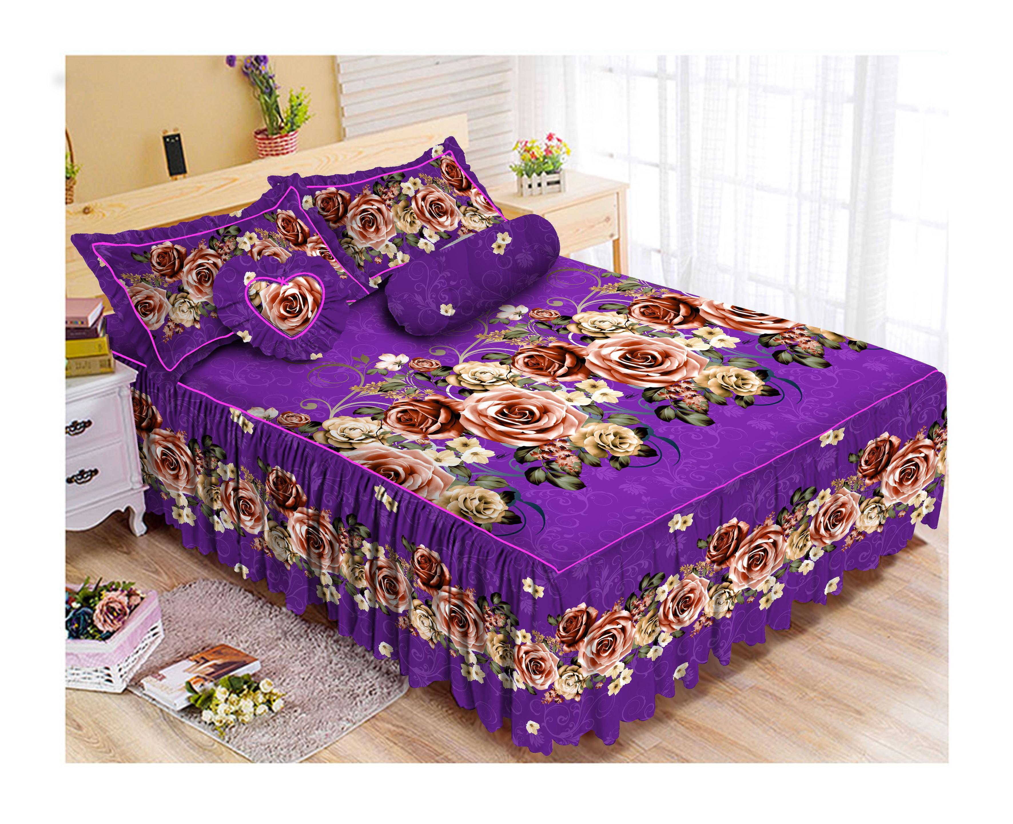 Kintakun Luxury Sprei Rumbai - 180 x 200 B2 (King) - The Royals
