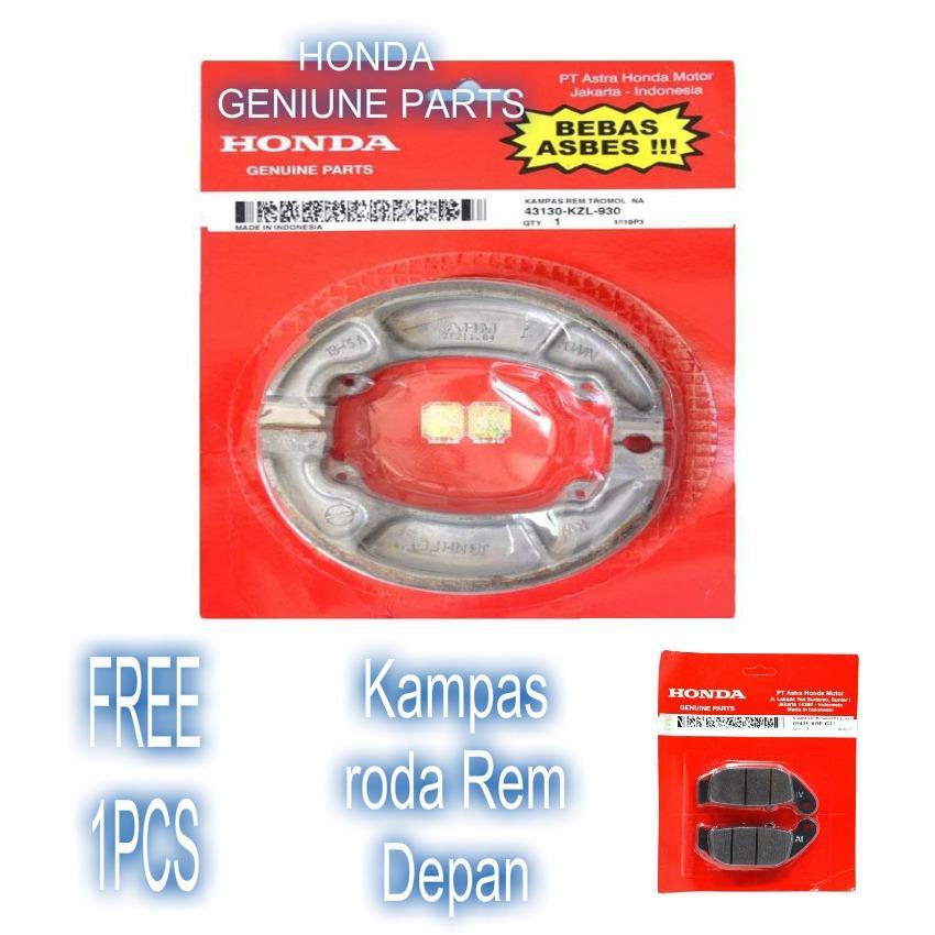 Kampas Roda Rem Belakang For Motor Honda Vario Techno 125 Honda Genuine Parts Original 100%