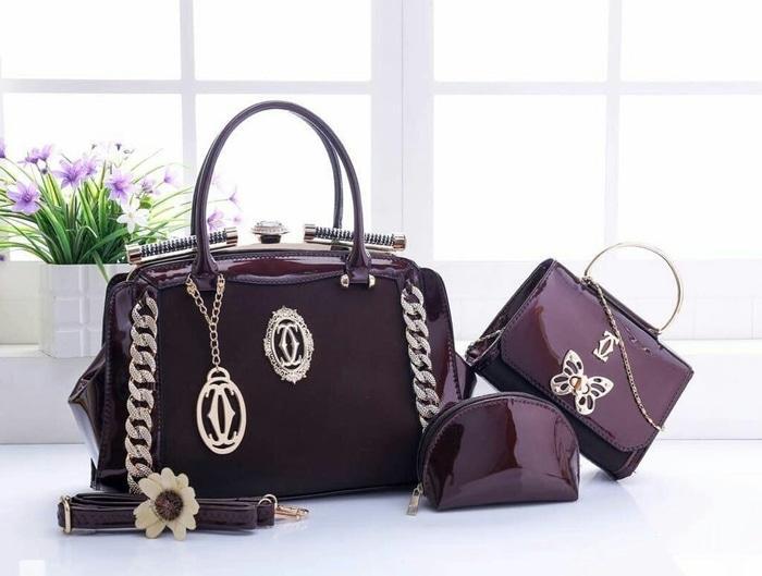 Tas Wanita Branded Import CARTIER BEHEL RING 8921 MURAH