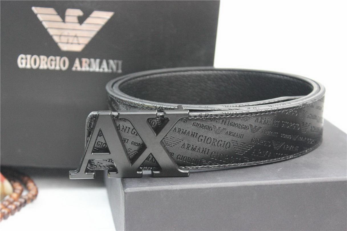 Armani-Belt (110cm) Men Women dermis Full dress belt Leather 110cm A95