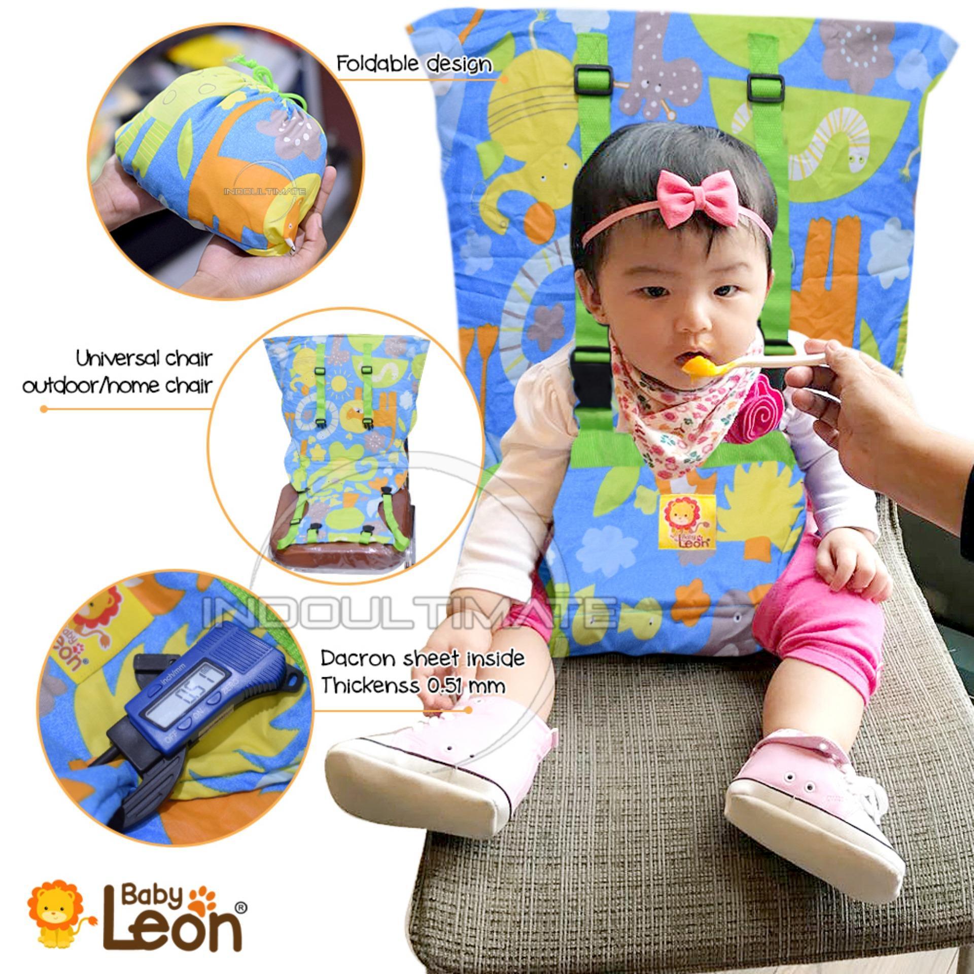 Pengaman Duduk Bayi Universal Kursi BABY LEON / Portable Baby safety chair cover sack n seat