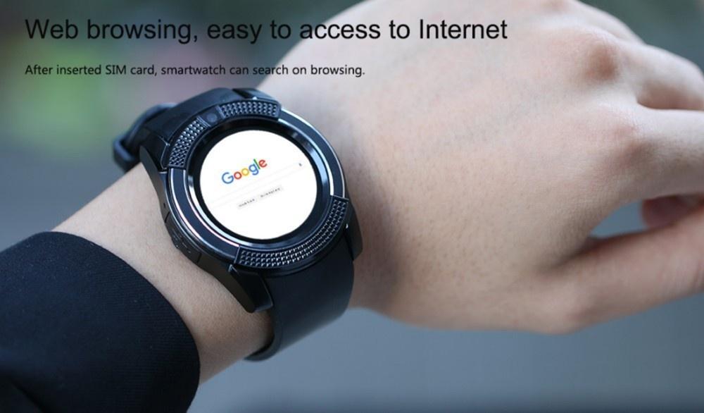 V8 Smartwatch DZ11 Sim Card Bluetooth Pedometer Original