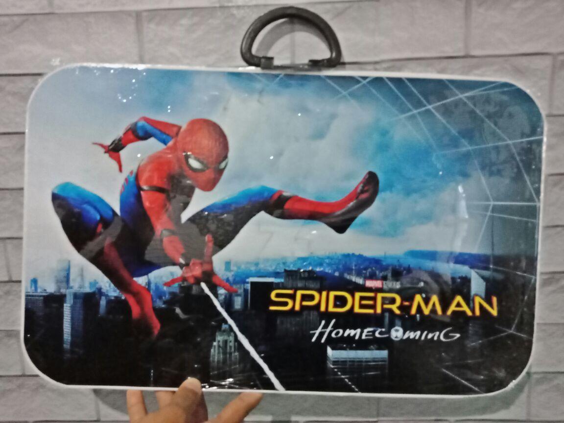 Meja Belajar Anak Meja Belajar Tokoh Kartun Dan Super Hero ( Tayo, Hello Kitty, Spider-man, Batman, Iron Man DLL )