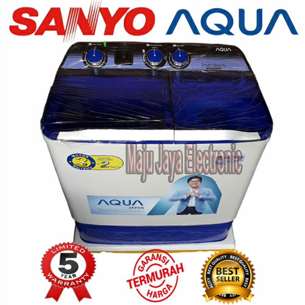 Mesin Cuci 2 Tabung Sanyo Aqua 880XT 8KG Hijab Mode