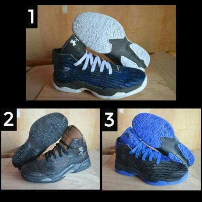 sepatu underarmor basket cowok murah / olahraga lari boot / style gym