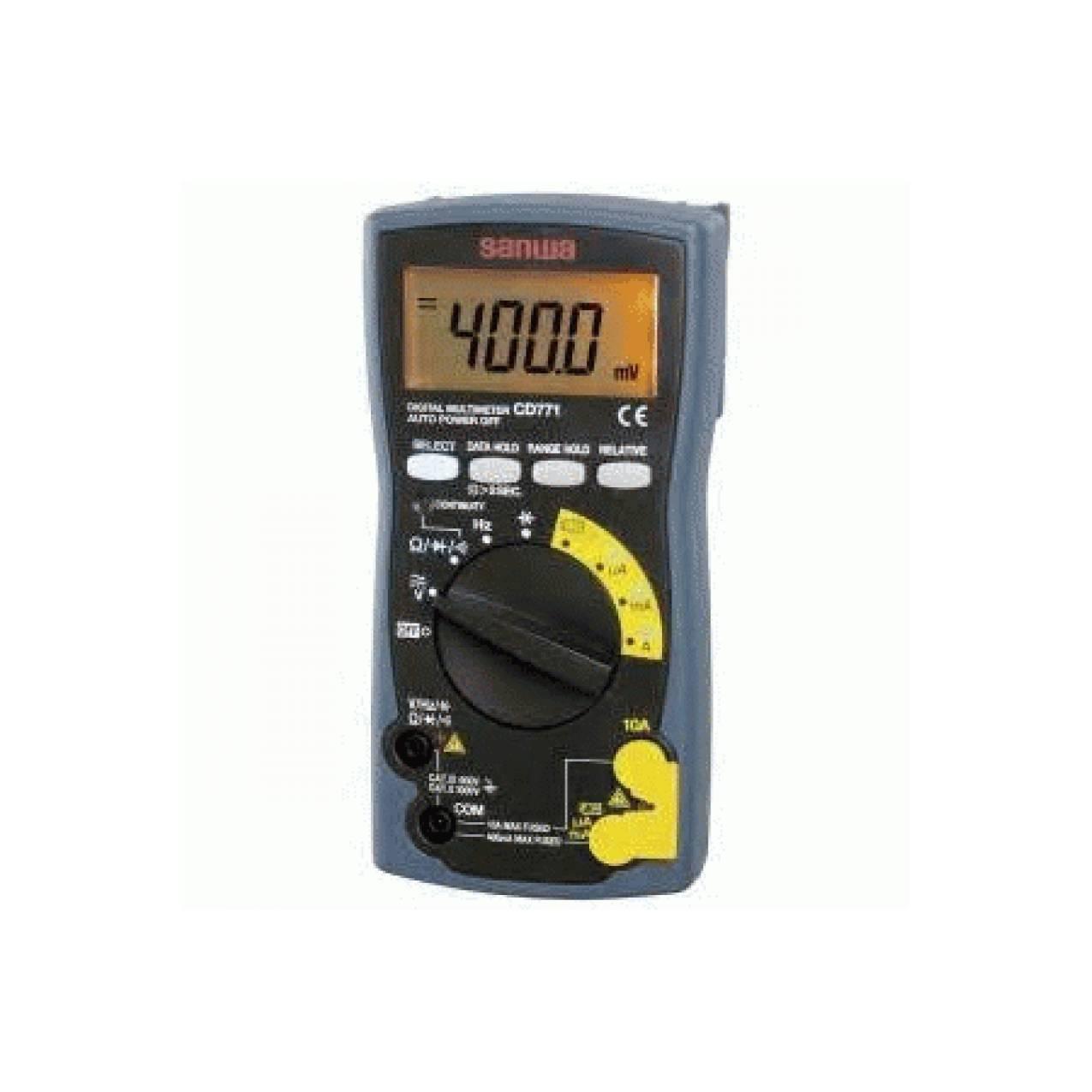 digital multitester / digital multimeter SANWA CD771 ORIGINAL
