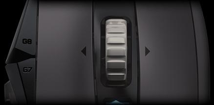 G502 has 2 scroll wheel modes.